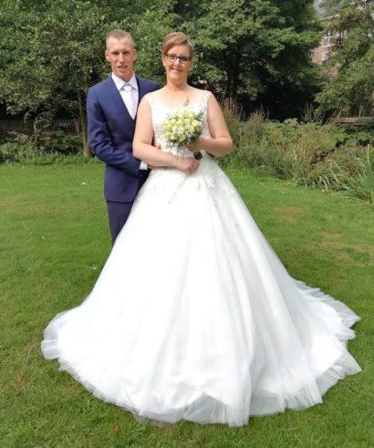 Bruid & Bruidegom trouwjurk voor een maatje meer