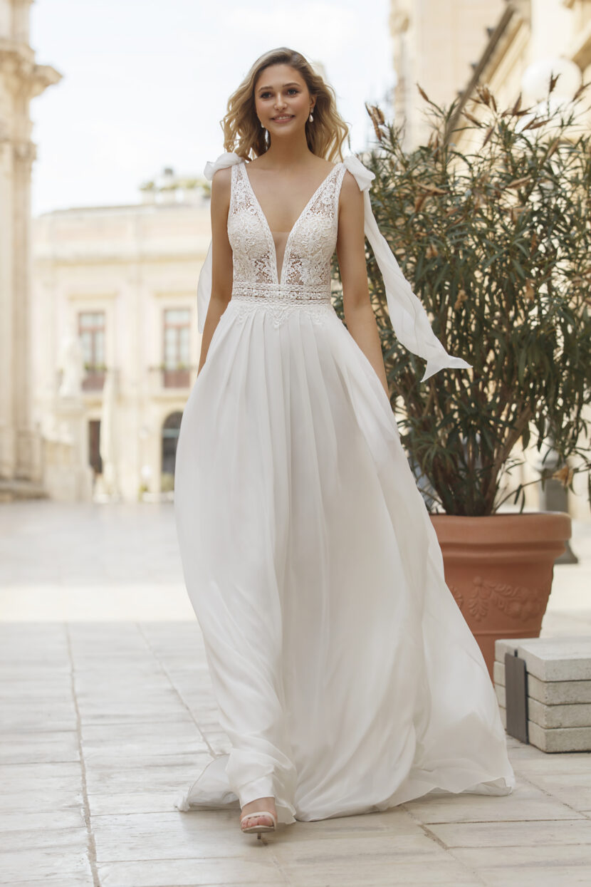 Bohemian weddingdress