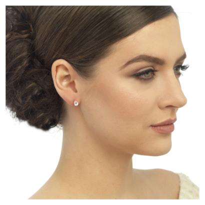 Kristallen oorbellen - code 3514 1 x 0,5cm - € 20