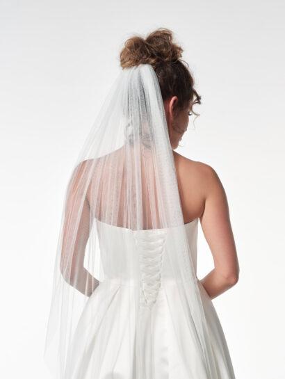 Effen bruidssluier S12 210cm € 90