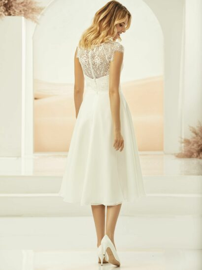 Short A-line Bridal Dress