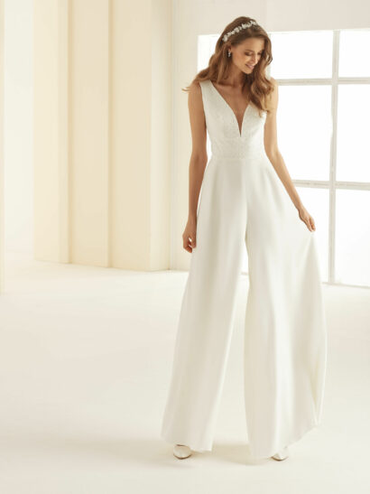Bridal jumpsuit / wedding jumpsuit